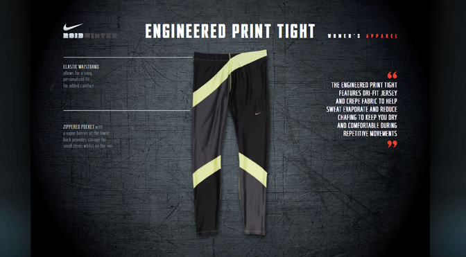 91fd250bee037f The Nike Egineered Tight