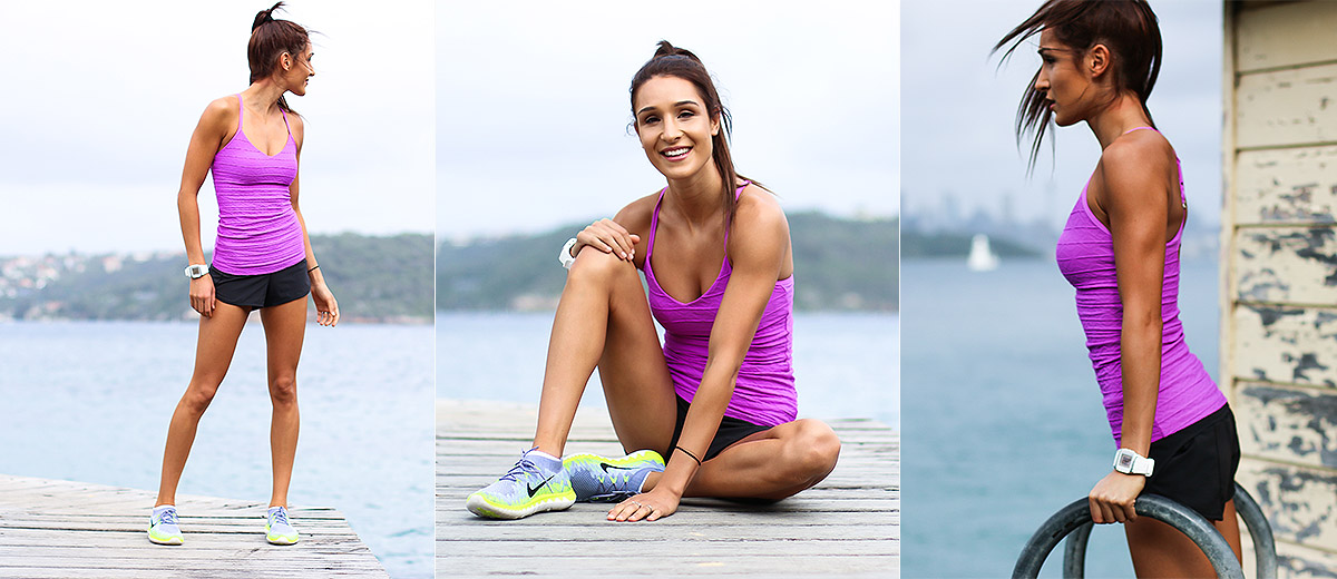 Kayla Itsines, Fitness inspiration, Fintess influencers: www.sporteluxe.com/kayla-itsines-diet-secrets