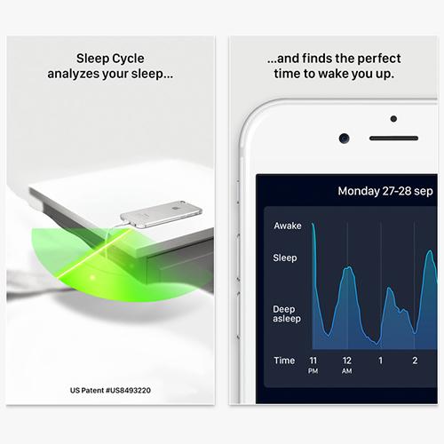 sleep apps, sleep cycle alarm clock