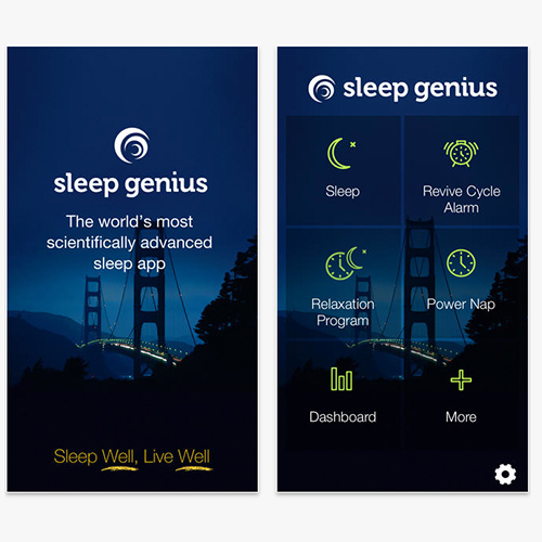 Sleep genius. sleep app