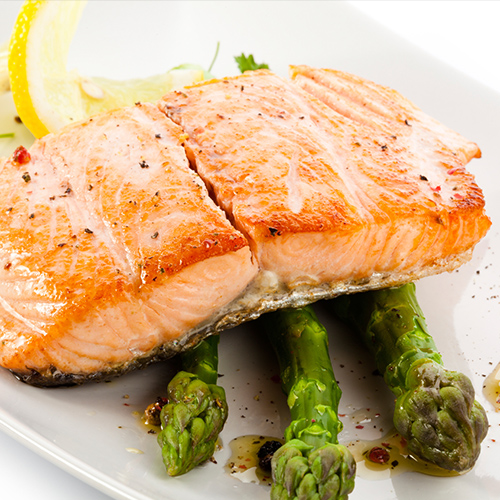 Grilled salmon, Ellyse Perry Diet