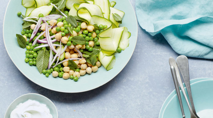 Chickpea Salad, James Duigan, Clean & Lean