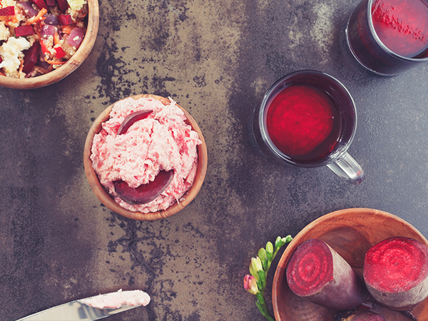 beetroot, beetroot dip, foods good for digestion