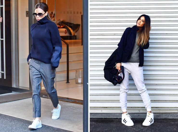How To Style Your Favourite White Sneakers