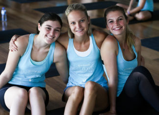 Rexona Clinical Protection, Sporteluxe, YOGA event sydney, Kate kendall, Bianca Cheah