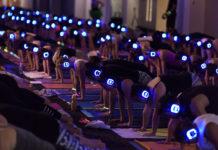 Silent Yoga Disco, silent sounds, silent yoga, kate kendall, Flow Athletic