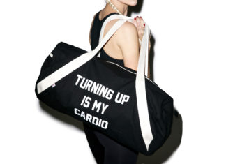 gym bag, shop private party, turning up is my cardio, tote bag, dolls kill