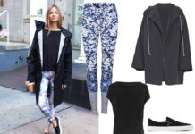 How to style printed tights, Dharma Bums