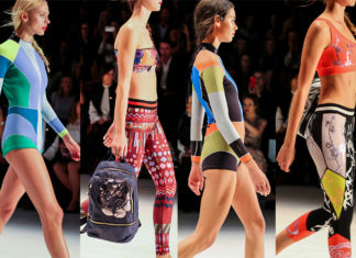 Cynthia Rowley, Neoprene wetsuits, active wear trends, sports luxe