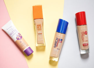Rimmel, foundation for dry skin, oily skin foundation