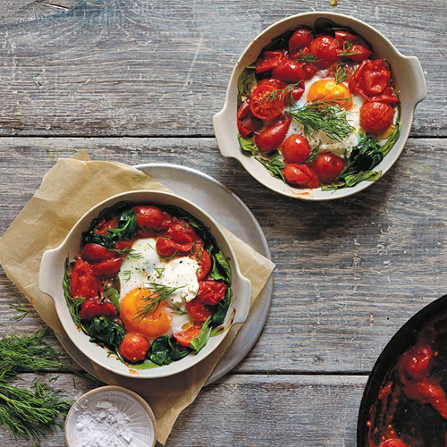 Jaqueline Alwill, Baked Eggs recipe