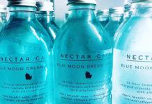 Crystal Blue Moon Dream Water nectar cafe london