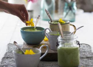 Cucumber and Avocado Soup, Candice Kumai