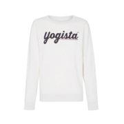 Parisian Yoga brand, YUJ Paris, yoga jumper