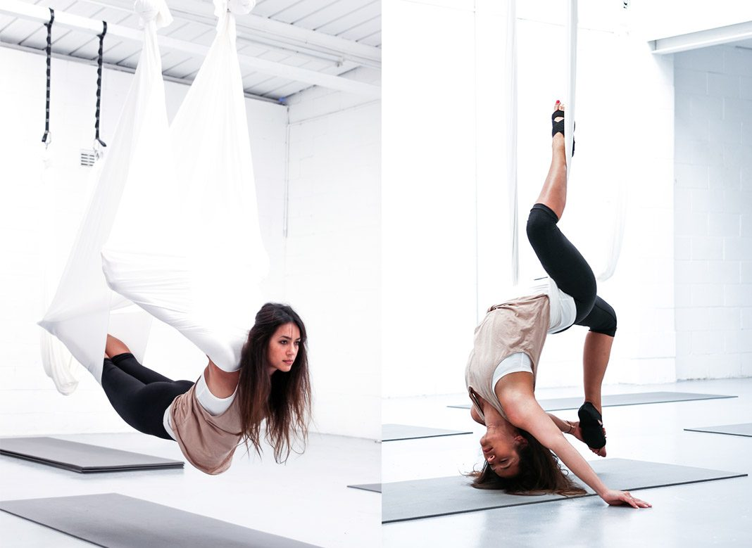 I Tried Anti Gravity Aerial Yoga And Loved It