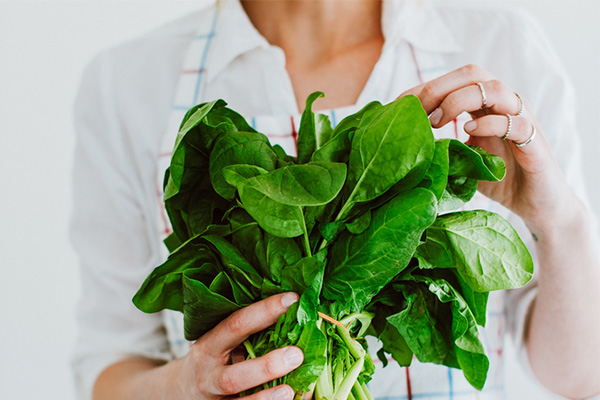 Folate, spinach, nutrient deficiency, depression