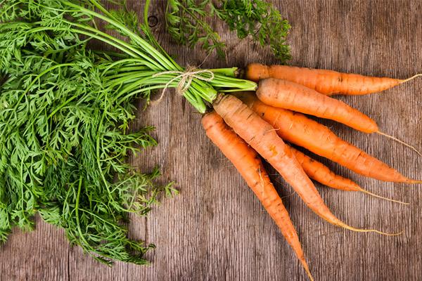Vitamin B6, carrots, depression, nutrient deficiencies