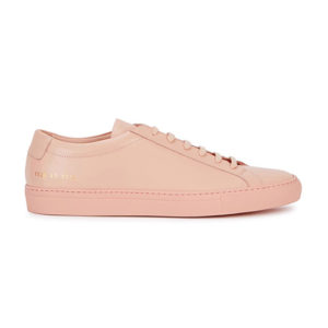 Common Projects, pale pink sneakers, blush trainers, pastel