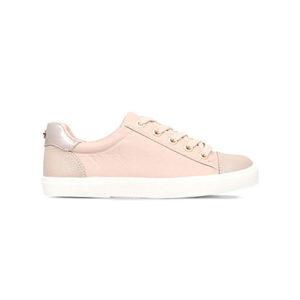 Kurt Geiger, pale pink sneakers, blush, trainers, pastel