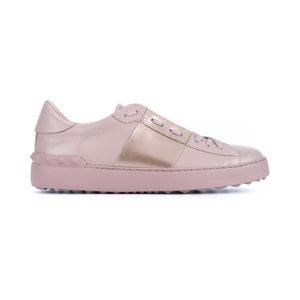Valentino, pink sneakers, blush, pastel