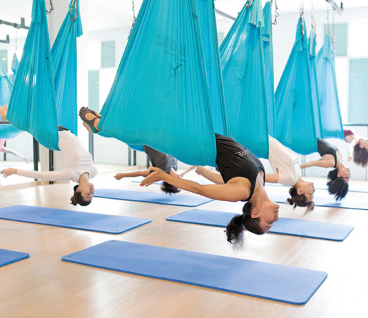 Upside Motion, Singapore, aerial yoga