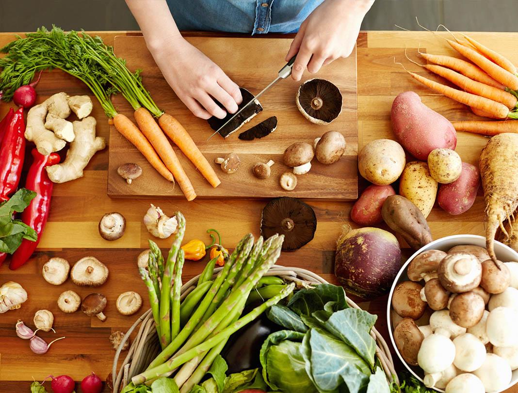 winter vegetables, cooking, stew