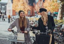 winter coat, bike riding, cycling, bicycle,