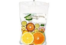IV drip, IV treatment, nutrients, vitamins, fruit in IV drip bag,
