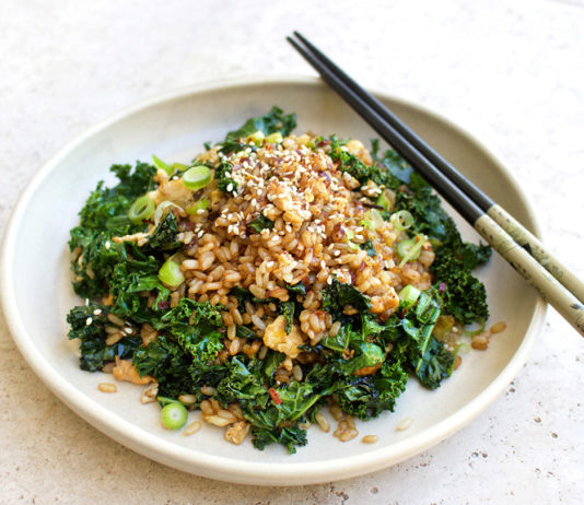 Healthy Fried Rice, Jessica Sepel, Healthy Recipes