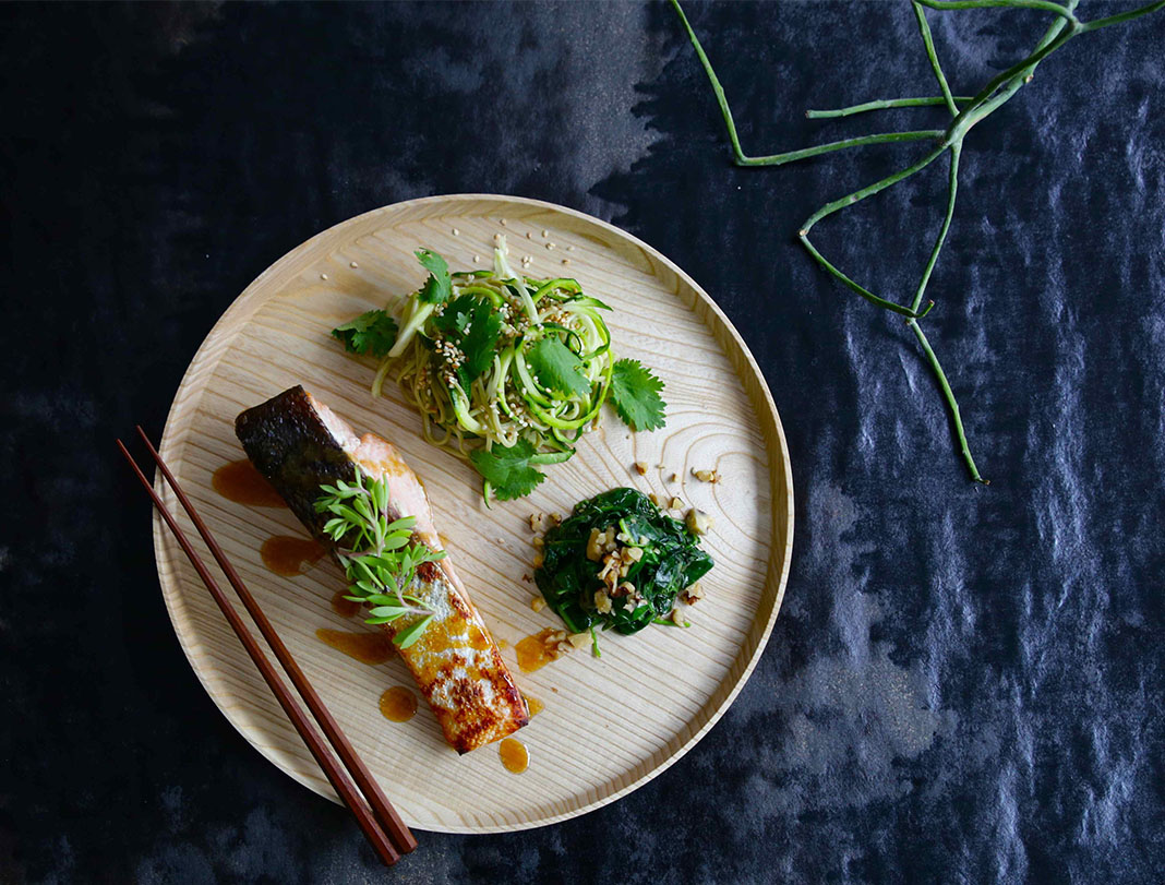 miso salmon, the brown paper bag, jacqueline alwill, recipe