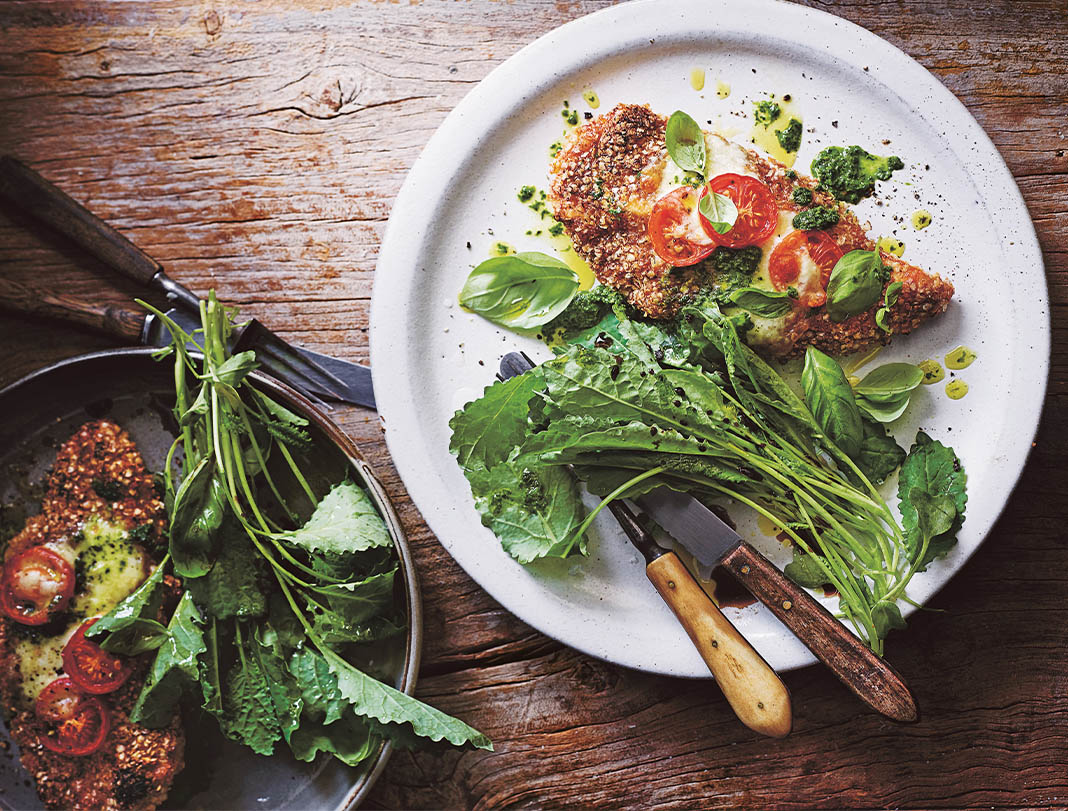 Here's How To Make A Fibre Packed Chicken Parmigiana