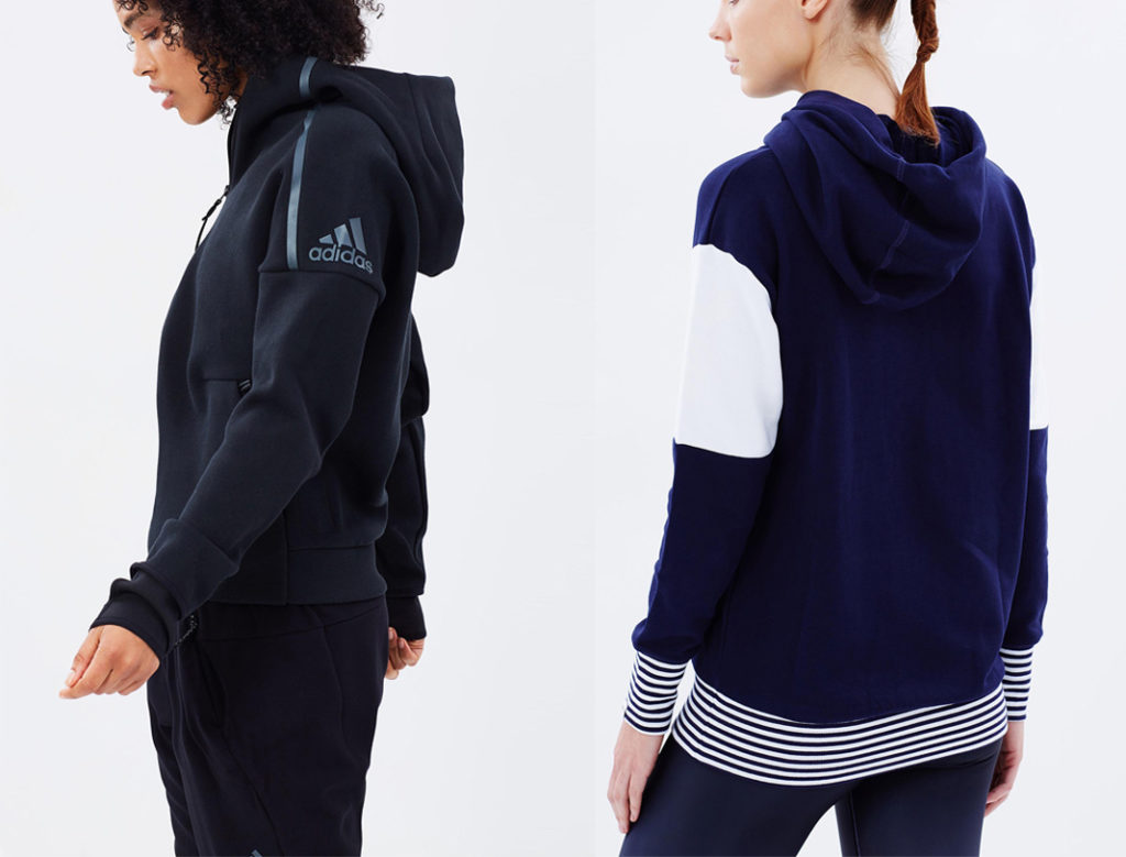 adidas Z.N.E hoodie, the iconic, puma style track top, active wear