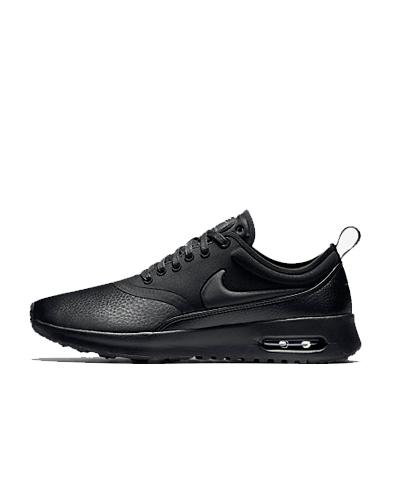 Nike, black sneakers, Air Max Thea
