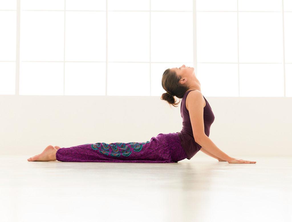 yoga poses for lower back pain, cobra pose