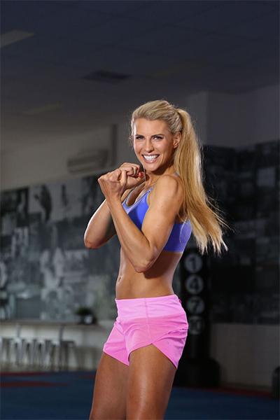 Uppercuts, boxing, Tiffiny Hall, martial arts, arm workout