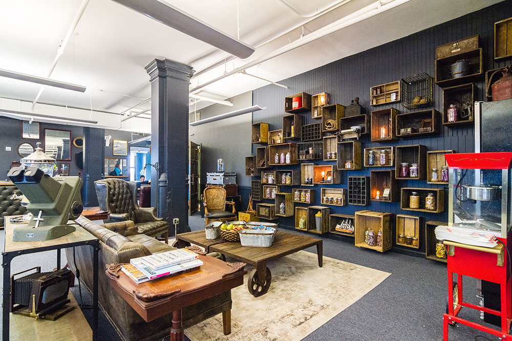 """""""Fueled Collective"""" coworking space in Soho, New York. Image via Croissant"""