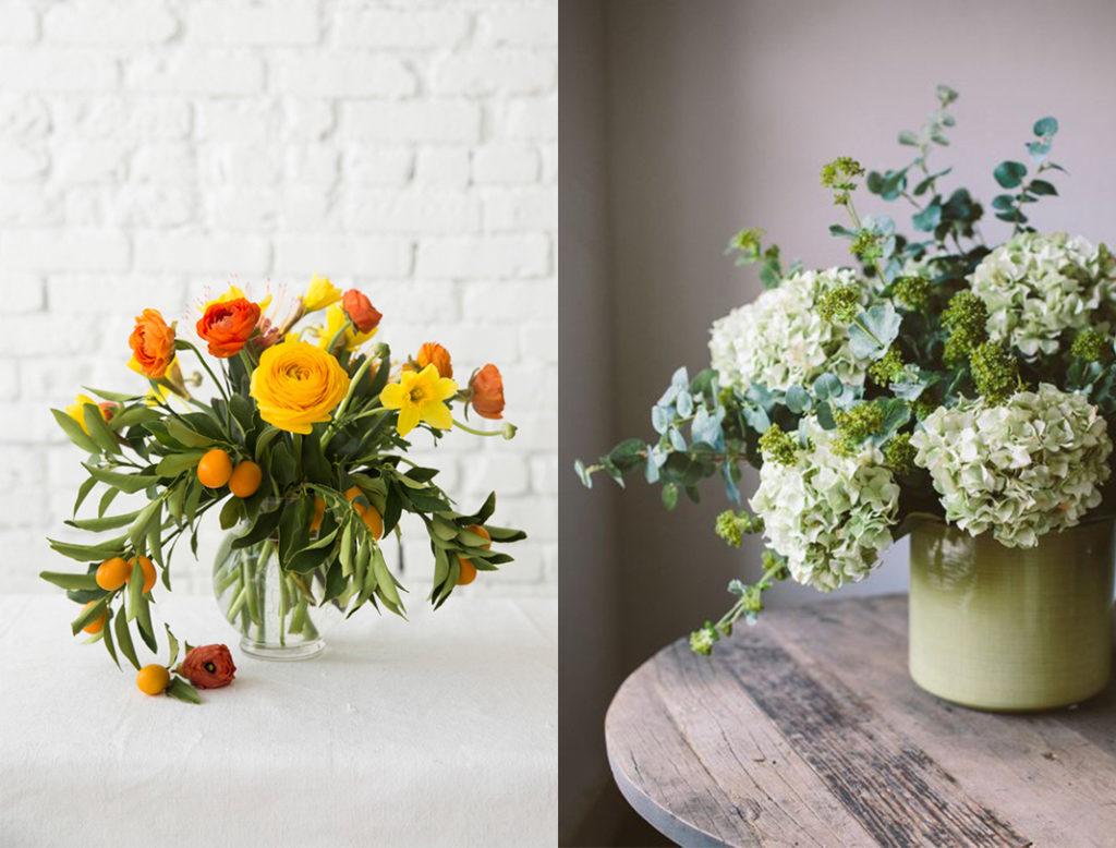 flower arrangements, vikki kerr, bouquets