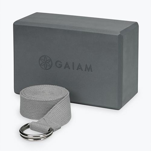 Yoga block, yoga at home, poses, Gaiam