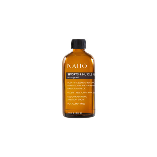 Natio, sports recovery oil, yoga