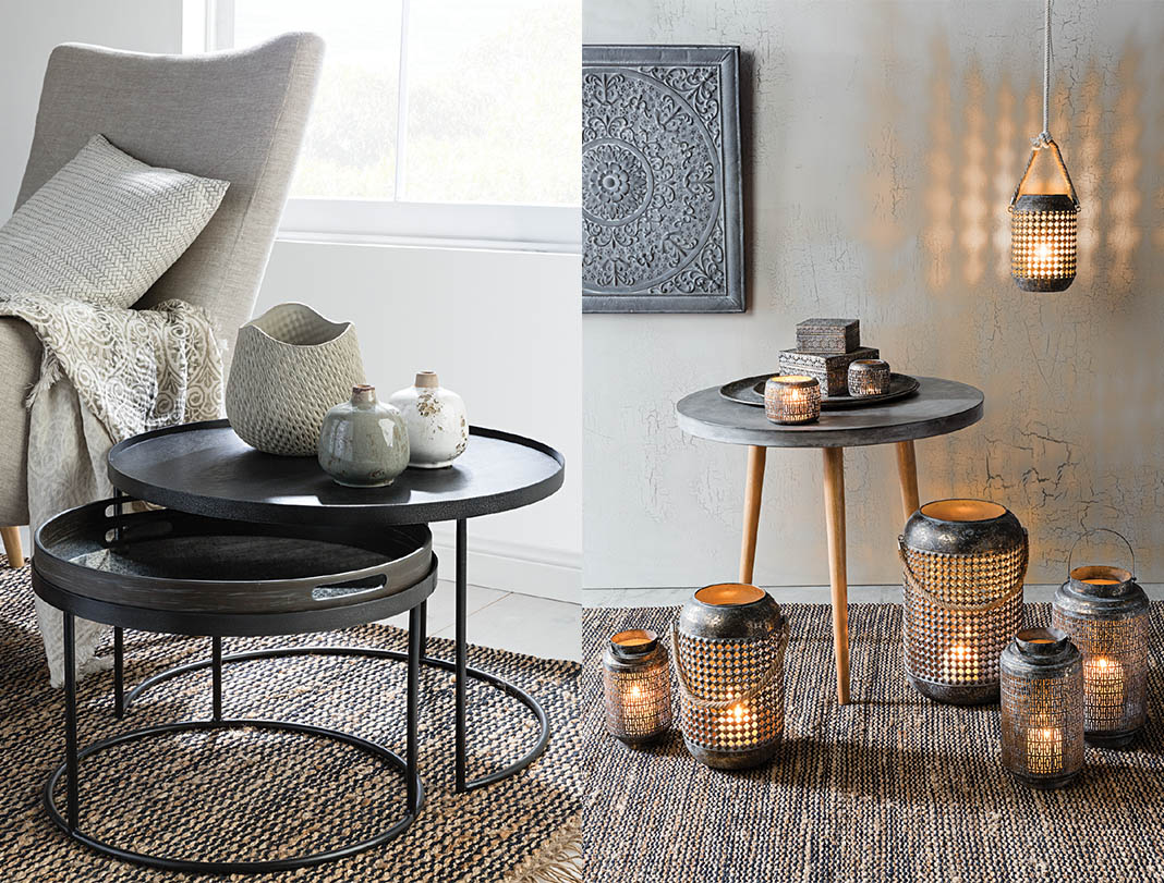Interior trends, candles, homewares, nordic style