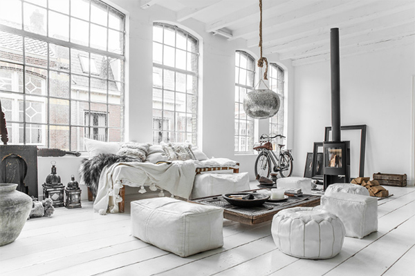 Interior trends, homewares, bedroom, nordic style