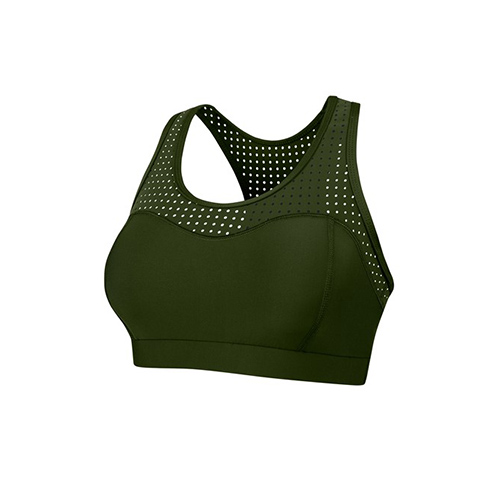 Running Bare, Kale, Crop Top, Active wear