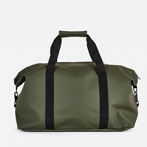Rains bag, sports tote, kale, Pantone