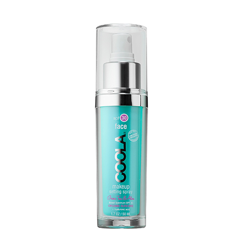 Coola Makeup Setting Spray, sunscreen mist, beach, sun protection, summer