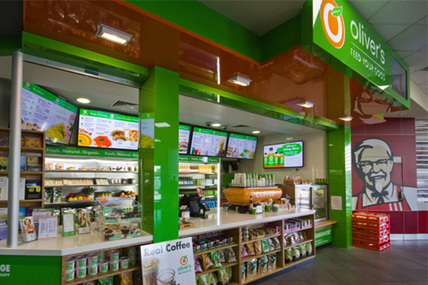 Oliver's, fast food chain, organic