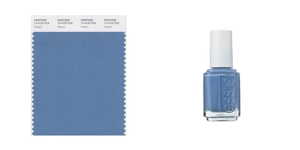 Niagara, Pantone, colours, shades, nail polish