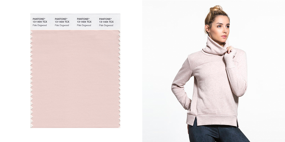 Pale Dogwood, Pantone, jumper, colours