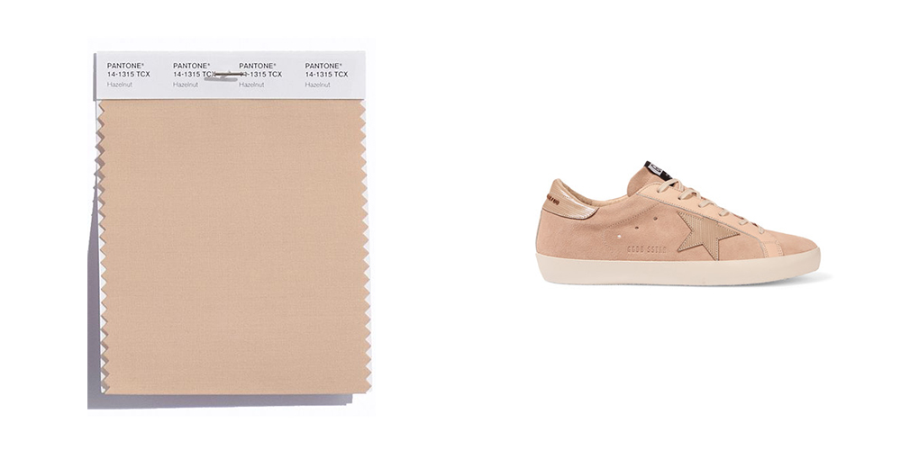 Hazelnut, Pantone, colours, sneakers