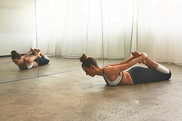 one hot yoga and pilates, tahlia ware, pilates workout, pilates principles, pilates principle breath, rocking exercise