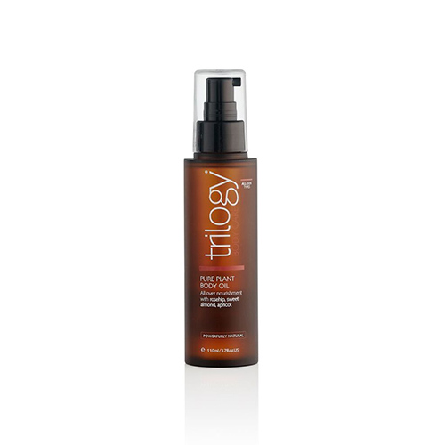 Trilogy body oil, sustainable beauty